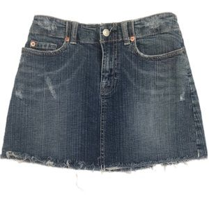 Wax Jeans All American Girl  Jean skirt size 3